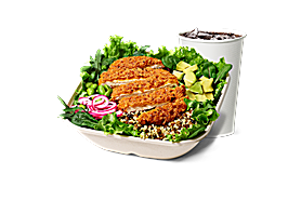 Crispy Chicken Salat Bowl  menu