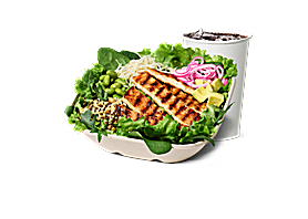 Grilled Chicken Salat Bowl menu