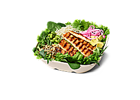 Grilled Chicken Salat Bowl